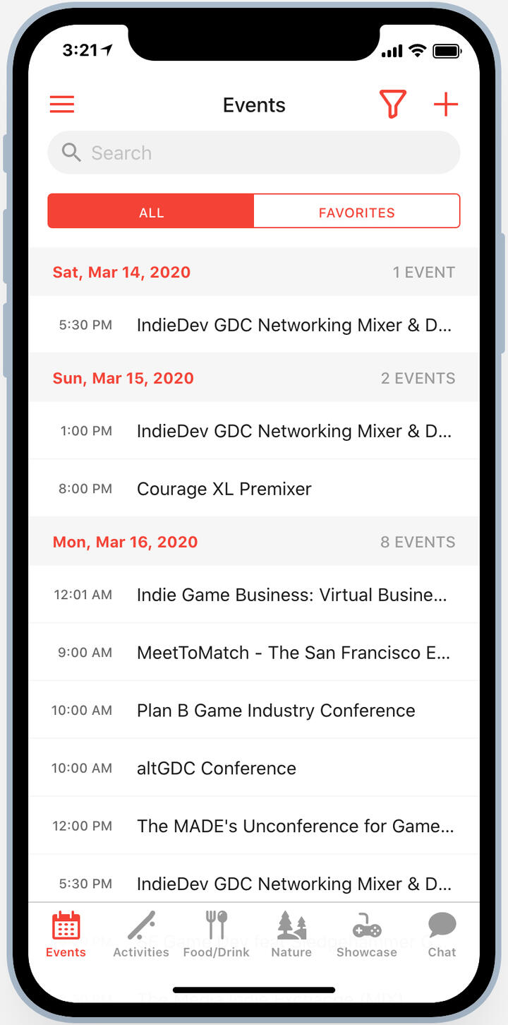 because.gdc conference app
